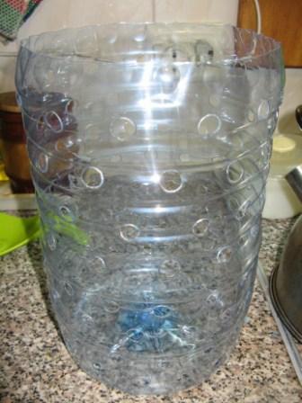лук в бутылке подготовка тары