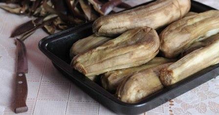 храним баклажаны