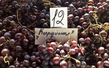 виноград кардинал описание сорта